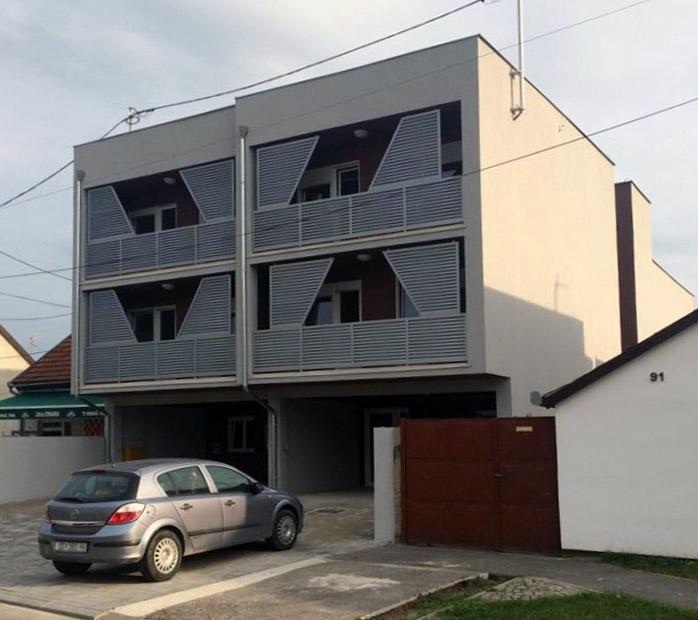 Fasaderski radovi - Facro - Stambena zgrada Osijek