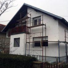Fasaderski radovi - Facro - Obiteljska kuća Bilje
