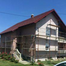 Fasaderski radovi - Facro - Obiteljska kuća Petlovac